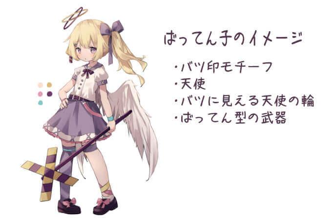 キャラクターのイメージ