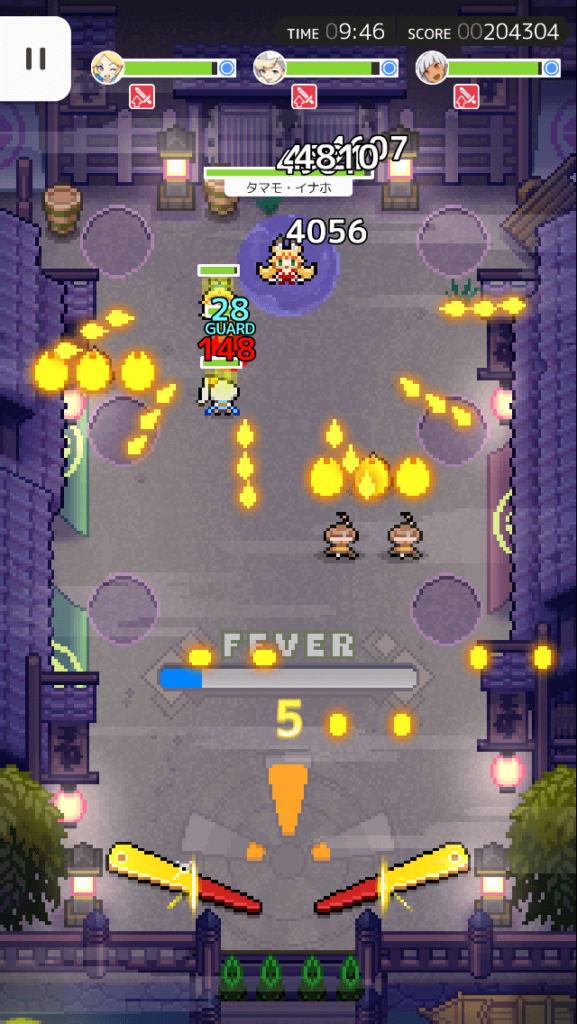 ワーフリのゲーム画面