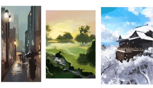 風景模写の練習を一ヶ月続けてわかったこと